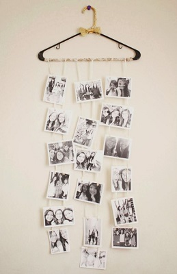 Cute Hanger BW DIY photo collage