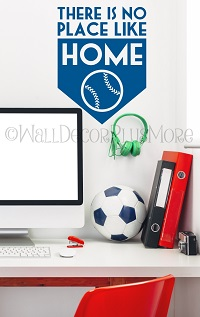 Sports Wall Decals Stickers Home Run Wall Words for Boys Room