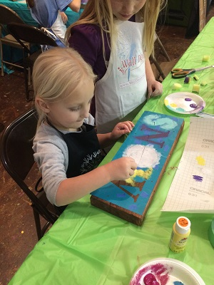 Host a Painting Party for a childs birthday! Contact us for more details about hosting a party or stencils for painting.