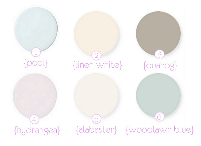 Choose a soothing color palette to complement your nursery theme and decor.