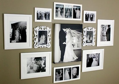 Creating a Gallery Wall with Photo Frames