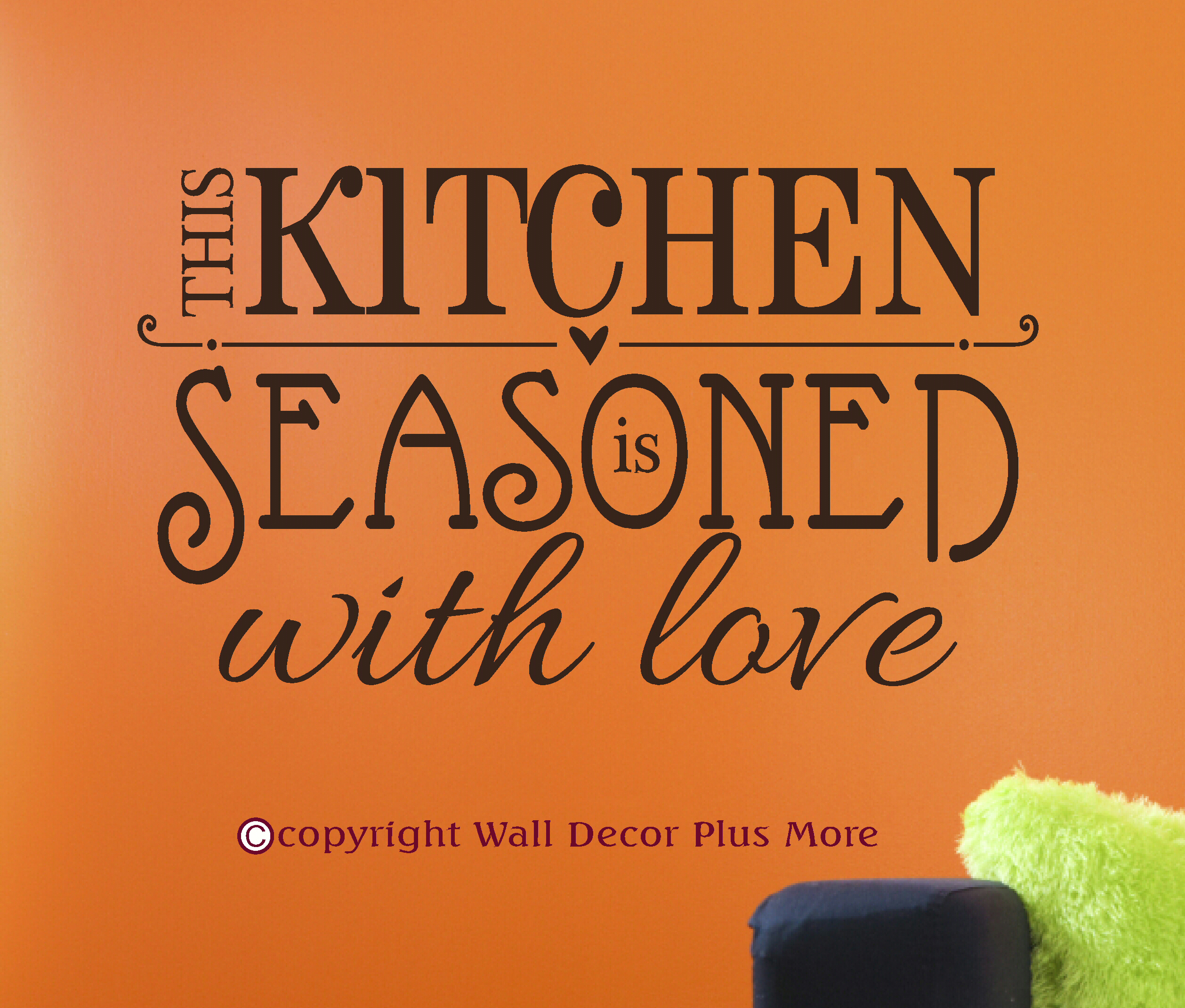 Kitchen Wall Art Decal - PR003-G
