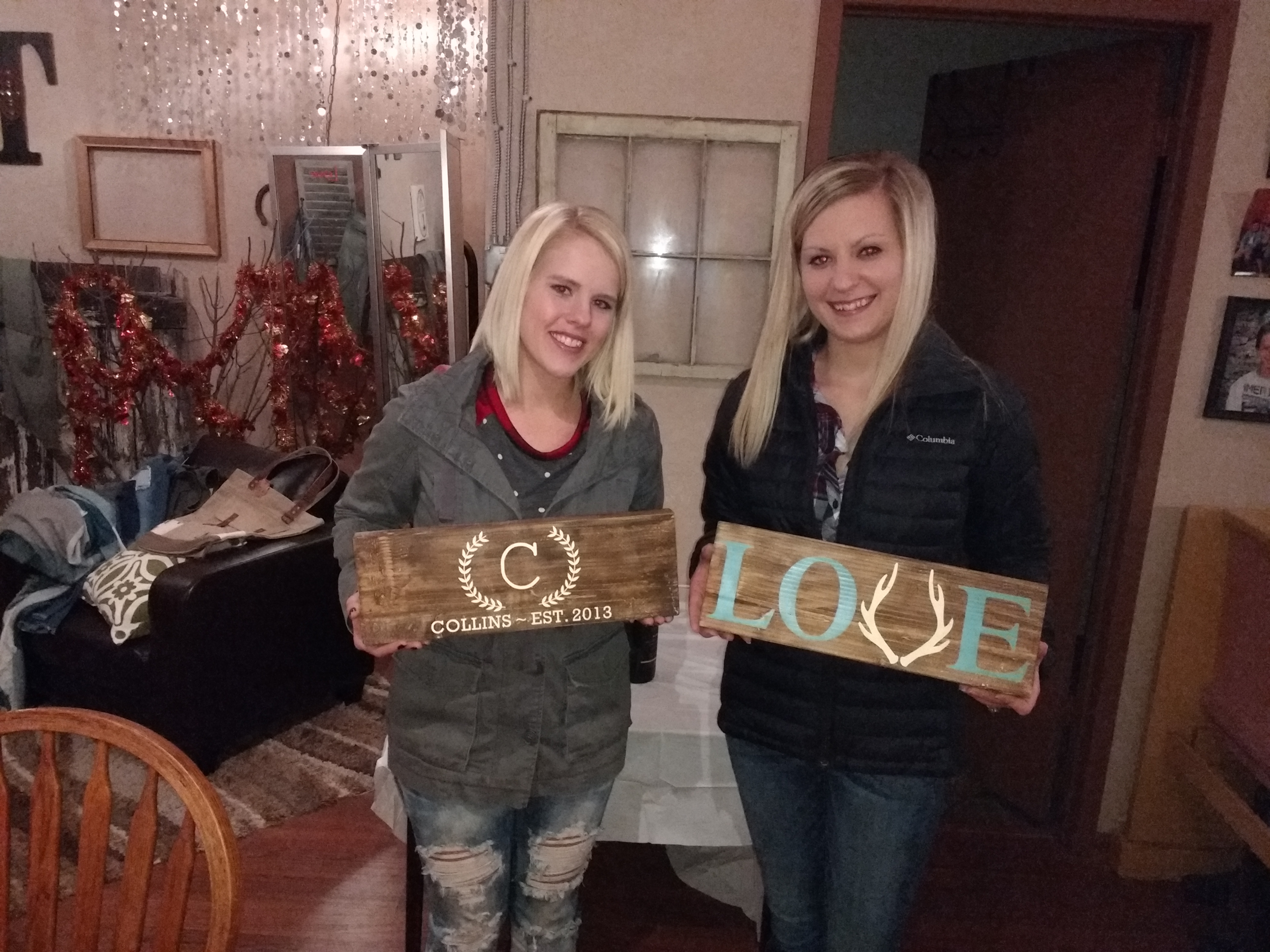 Wood Sign Board Painting Party Nov2017