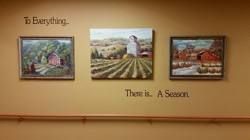 To Everything There Is A Season Wall Decal Quote - Artist Nan Verhuizen
