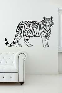Tiger Animal Wall Sticker Decal