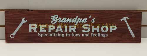 WD481 Gradpa's Repair Shop