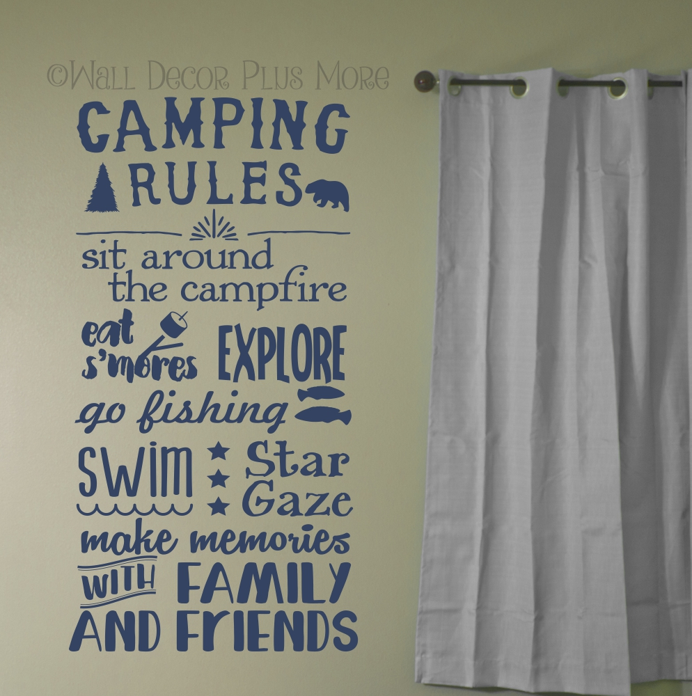 WD636 Camping Rules
