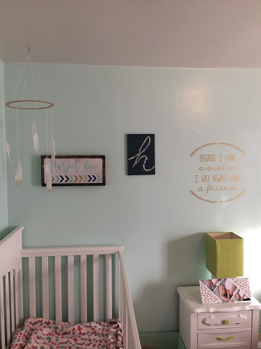 Smooth Walls are ideal for Wall Decal Stickers